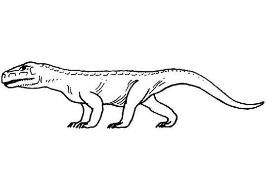 Новые открытия палеонтологов и российские корни ужасных ящеров мезозоя