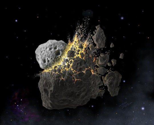 Влияние астероидов на Землю и ее обитателей