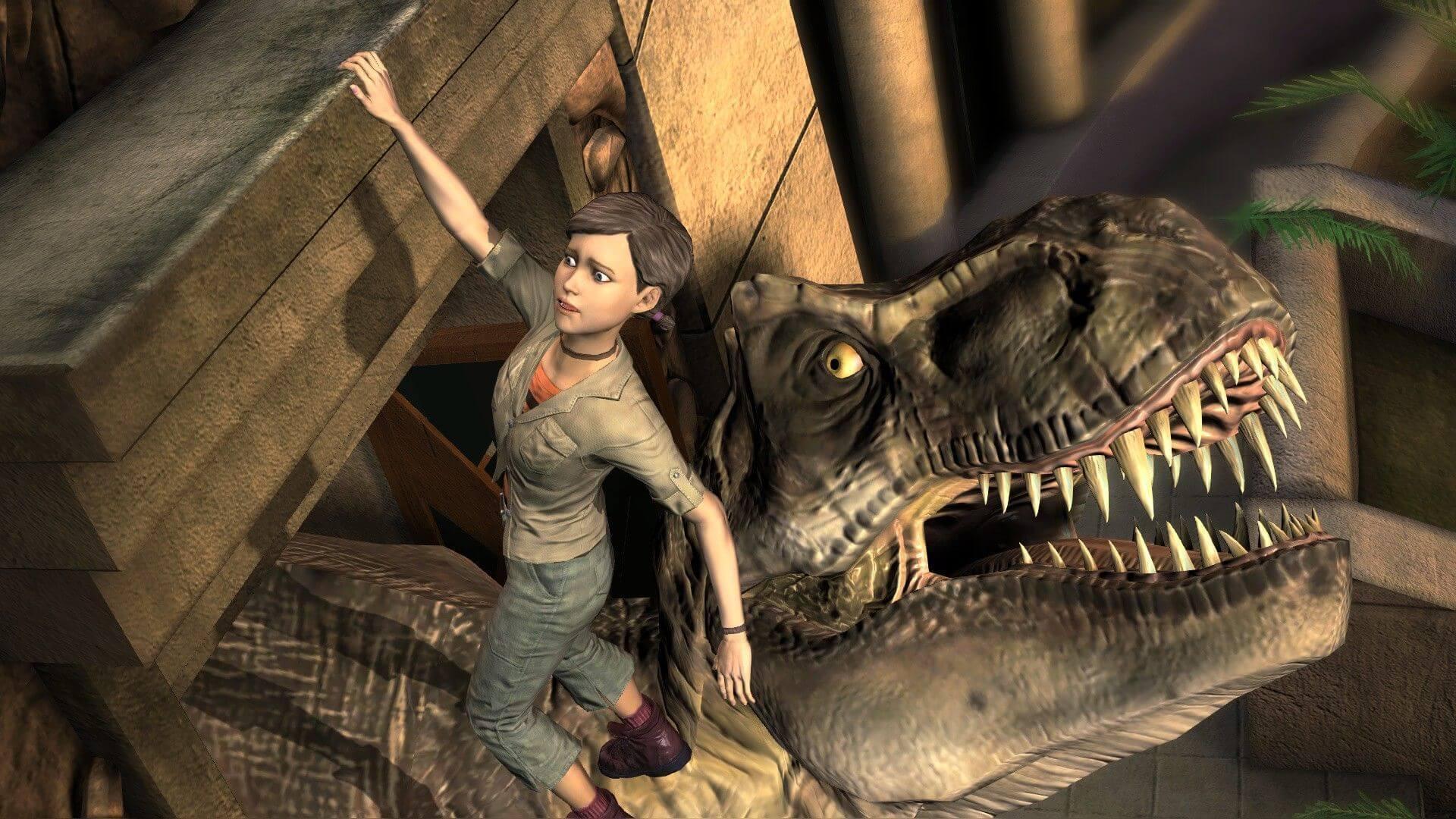 Нападение тираннозавра
