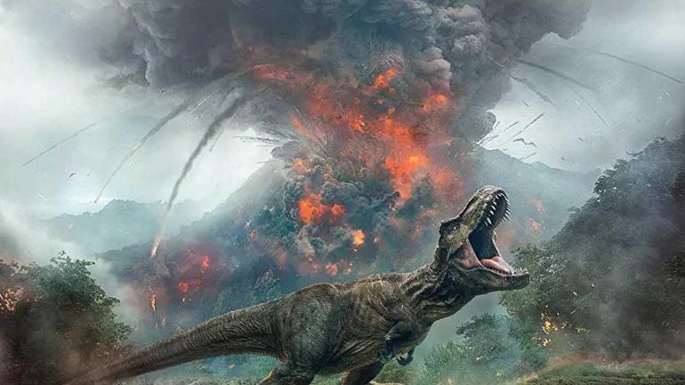 Причина вымирания динозавров - вулканическая активность