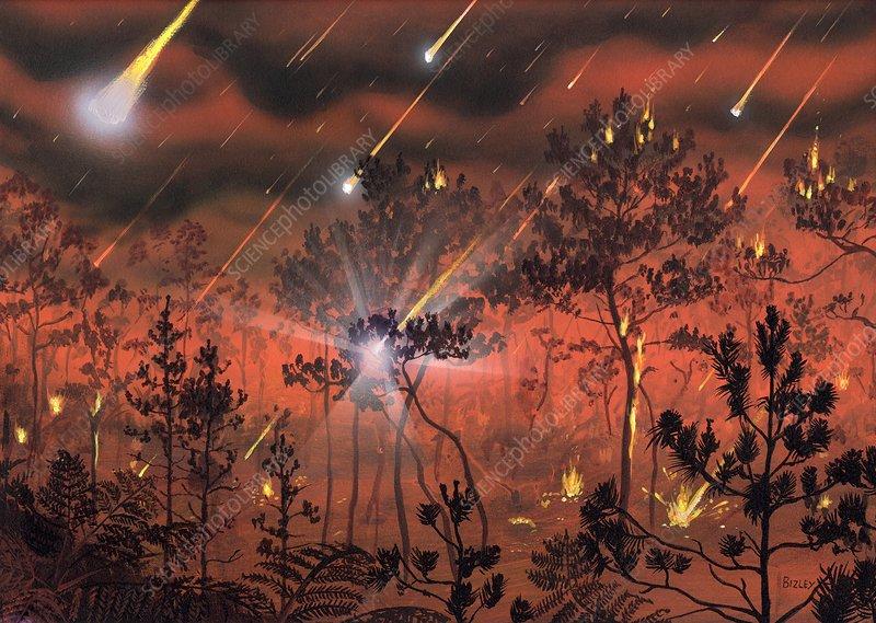 Мел палеогеновое вымирание