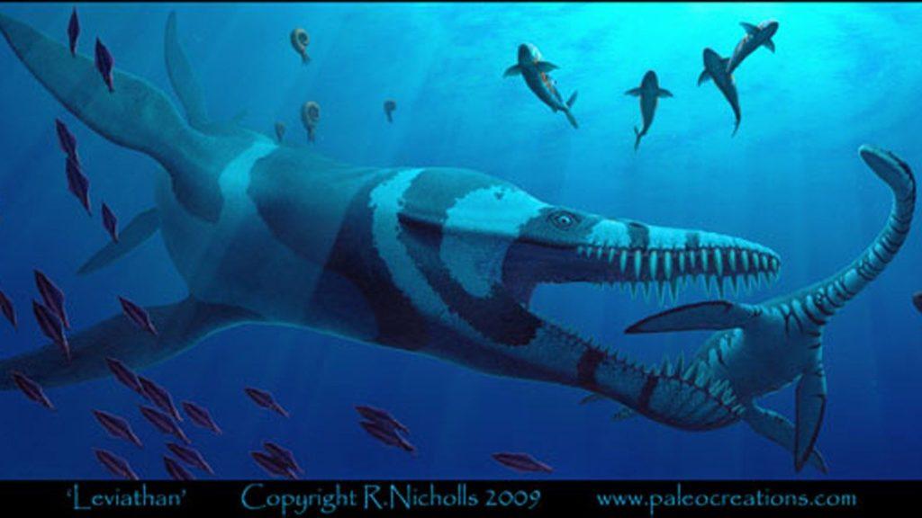 Морские обитатели юрского периода
