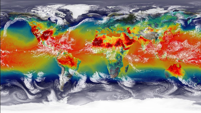 Изменение климата сделало невозможным существование динозавров на земле