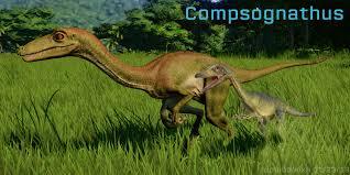 компсогнат в jurassic world evolution