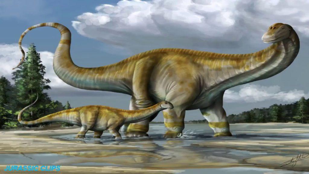 Отношение пуэртазавра к потомству