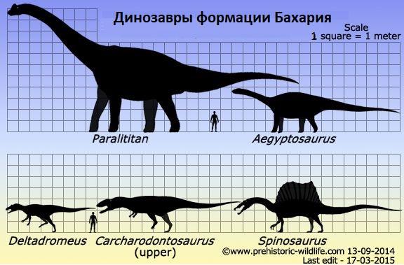 Динозавры формации Бахария