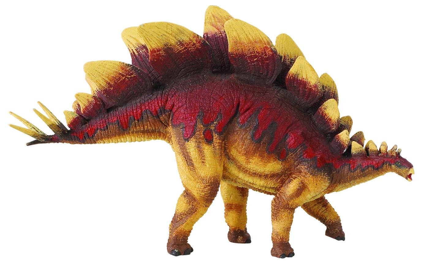 Гребни стегозавров меняли цвет, этим они привлекали самок