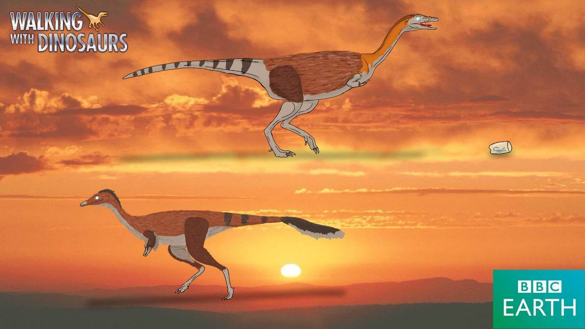 """Кадр из фильма """"Прогулки с динозаврами"""""""