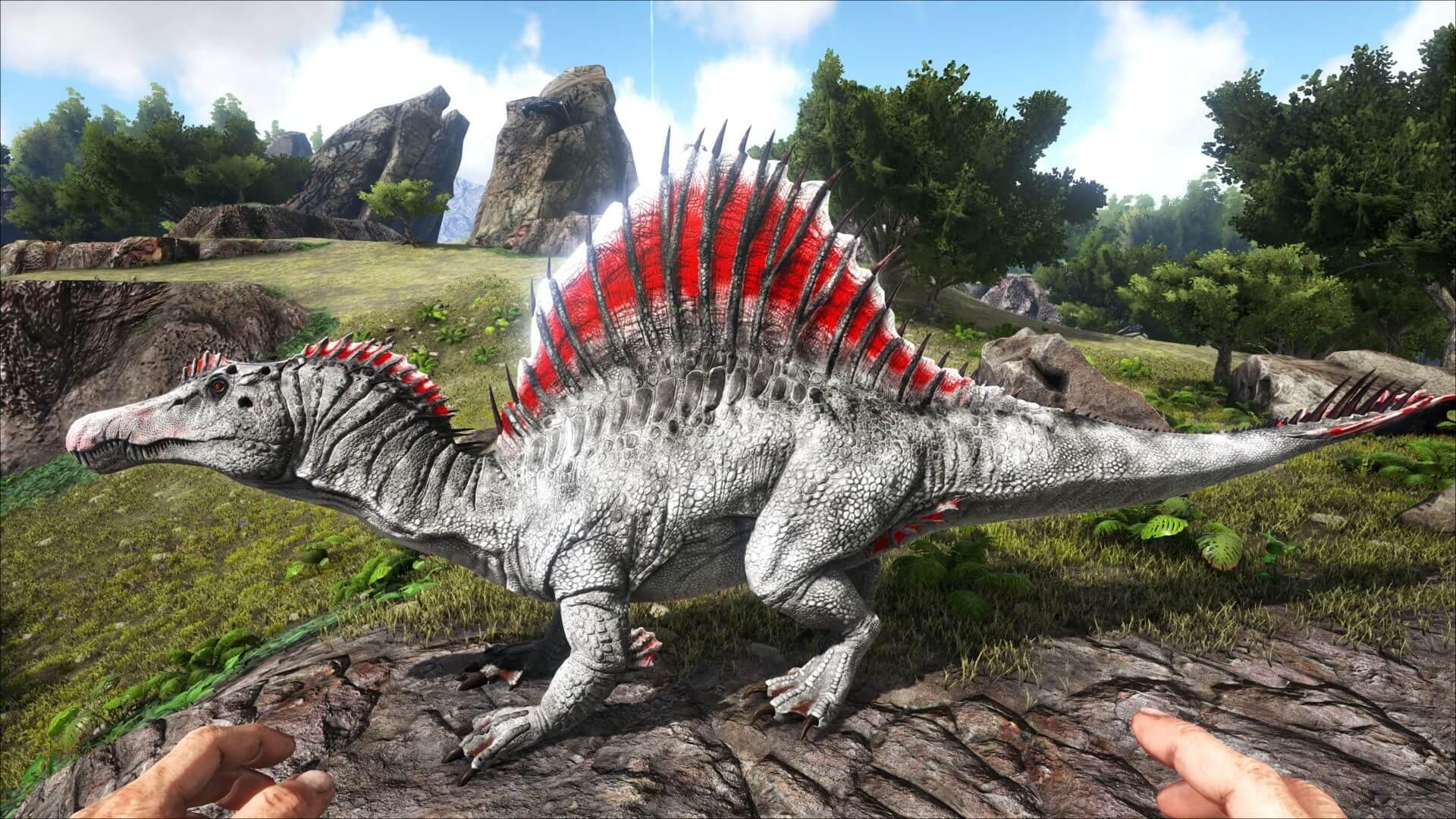 Вариант окраски спинозавра