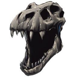 Костяной шлем тираннозавра