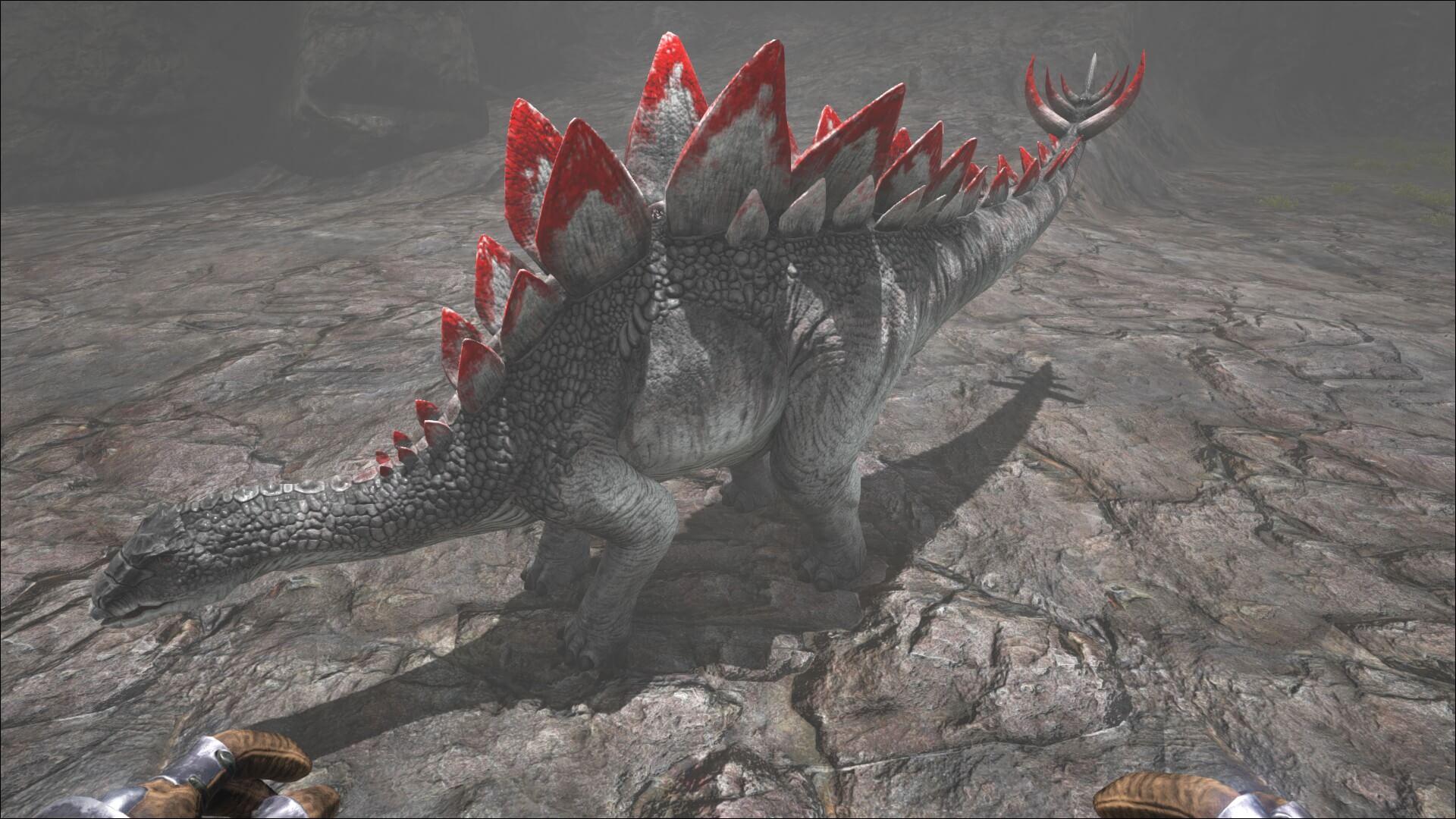 Вариант окраски стегозавра Арк