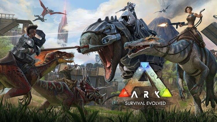 Кадр из игры ARK