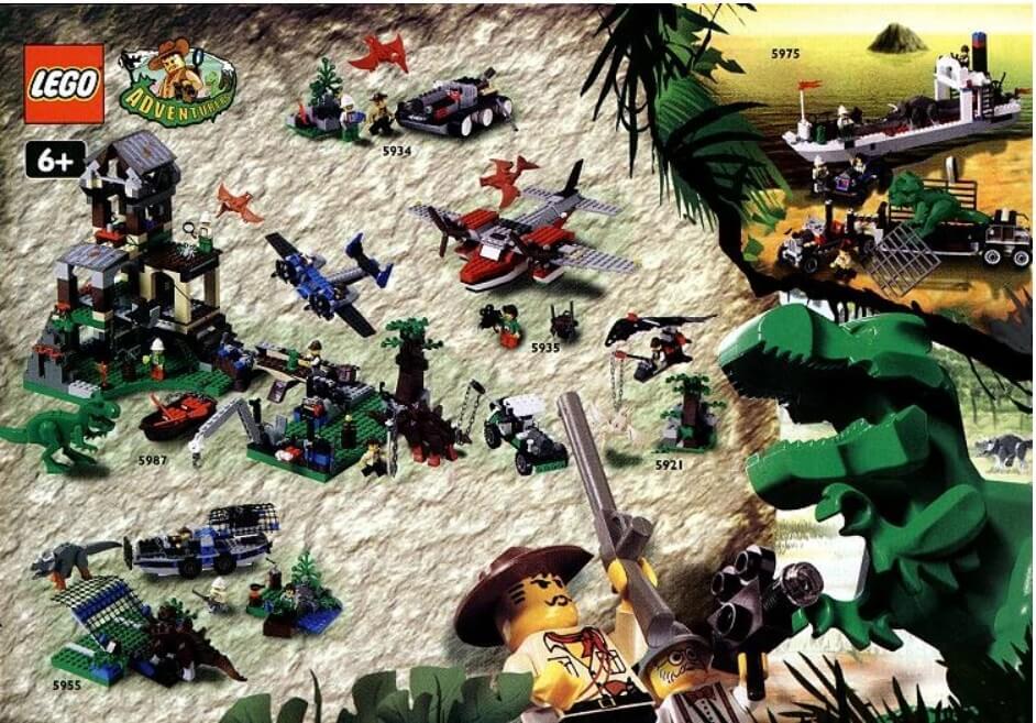 Все наборы серии Lego_Dino_island